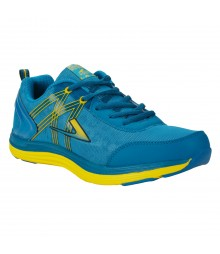 Vostro Peacock Yellow Sports Shoes Audi for Men - VSS0111